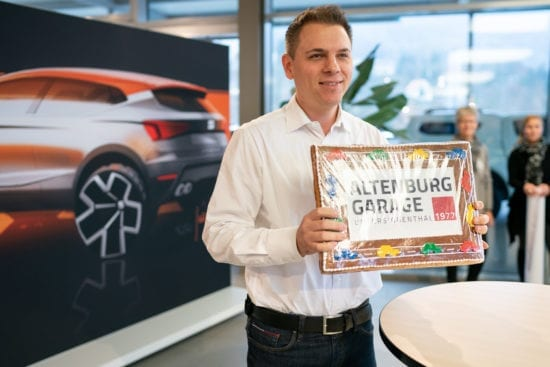 Logo wurde modernisiert - Altenburg Garage 5