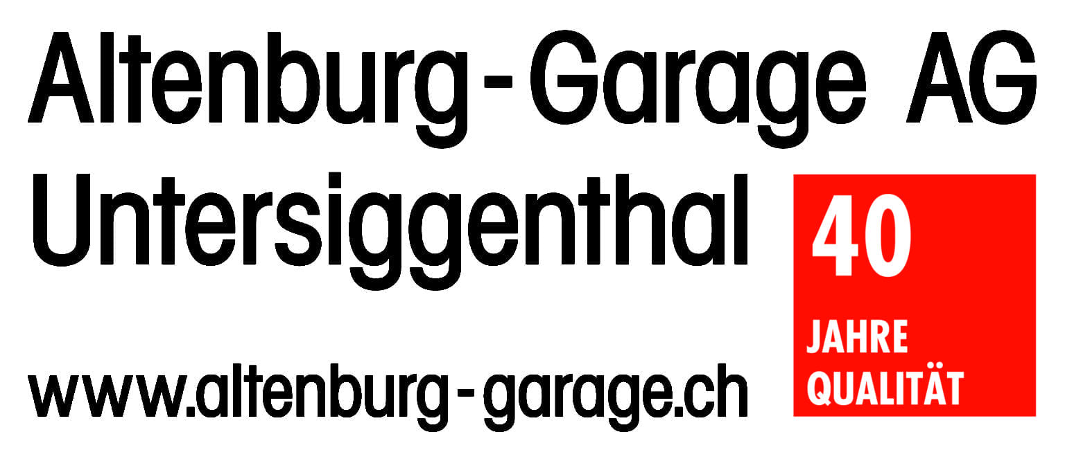 Logo wurde modernisiert - Altenburg Garage 2