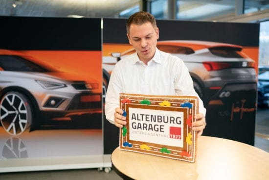 Logo wurde modernisiert - Altenburg Garage
